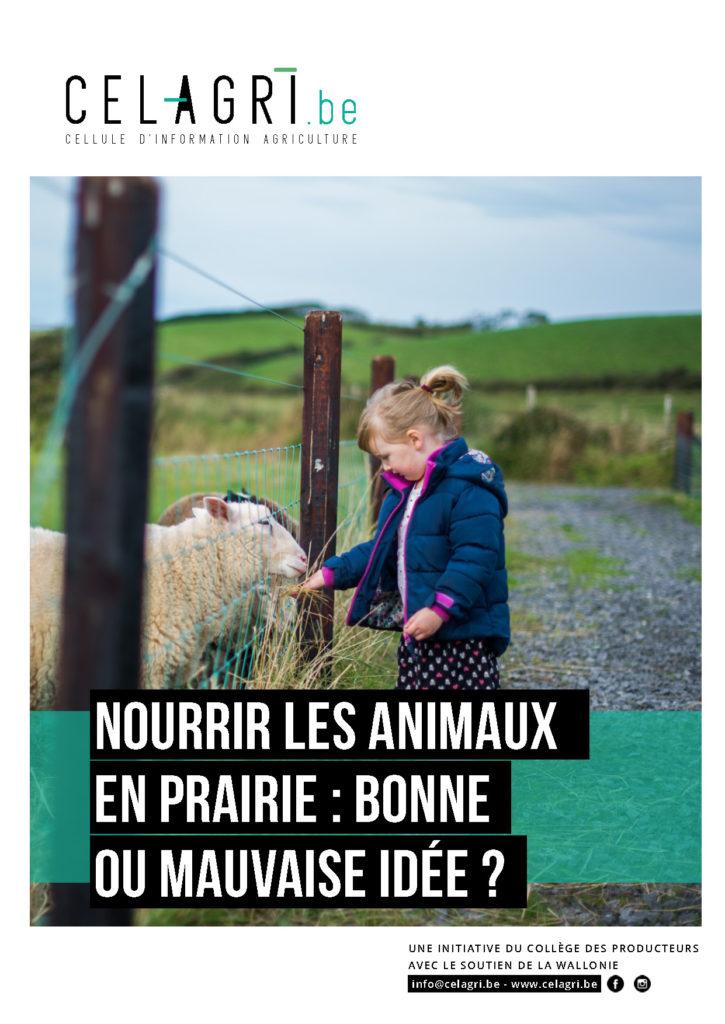 CELAGRI dossier Nourrir les animaux en prairie